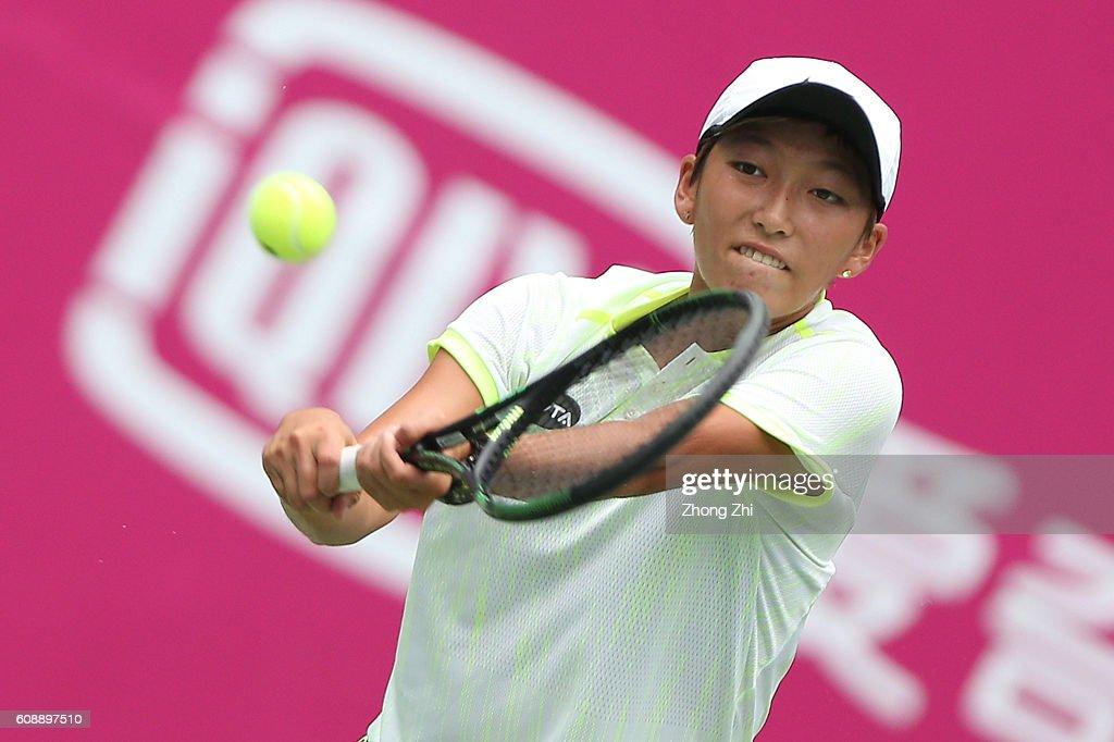 2016 WTA Guangzhou Open - Day 2 : News Photo