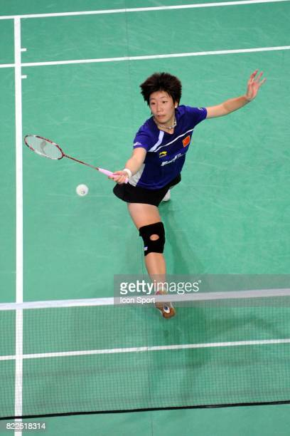 Xiaoli WANG Internationaux de France Badminton Paris Coubertin