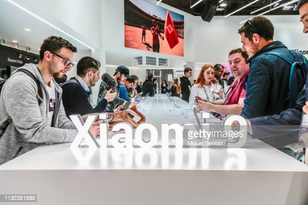 Xiaomi 9 5G is seen during GSMA MWC 2019. The MWC2019 Mobile World Congress The presence of devices prepared to manage 5G communications has been the...