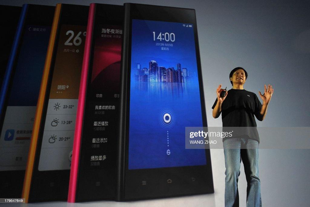 US-CHINA-TELECOMMUNICATION-XIAOMI-GOOGLE : News Photo