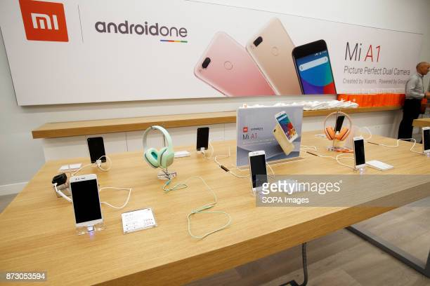 XANADú ARROYOMOLINOS MADRID SPAIN Xiaomi products seen being displayed at the first store opened in Spain The company Xiaomi inaugurates its first...