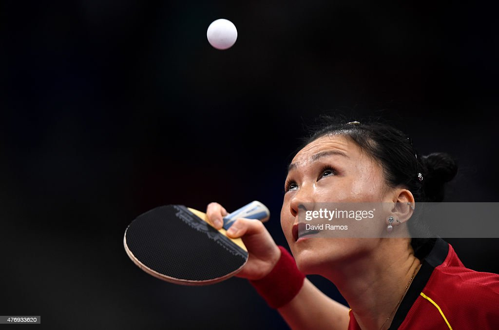 Table Tennis Day 1: Baku 2015 - 1st European Games : News Photo