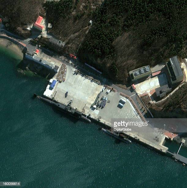 Xiaopingdao Naval Base also referred to as the 62nd Submarine Training Base is located on the Yellow Sea just outside of Dalian in Liaoning Province...