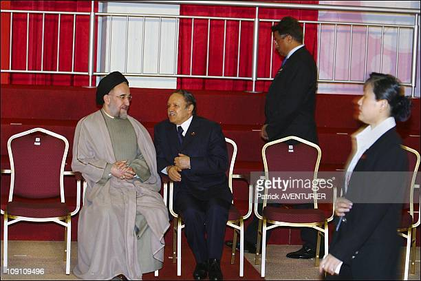 XIIIth Nam Summit'S, Ministerial Meeting At Merdeka Hall, Pwtc, Kuala Lumpur On February 23Th, 2003 In Kuala Lumpur, Malaysia. Mohammad Khatami ,...