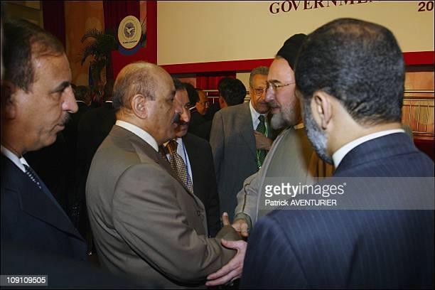 XIIIth Nam Summit'S, Ministerial Meeting At Merdeka Hall, Pwtc, Kuala Lumpur On February 23Th, 2003 In Kuala Lumpur, Malaysia. Iranian President...