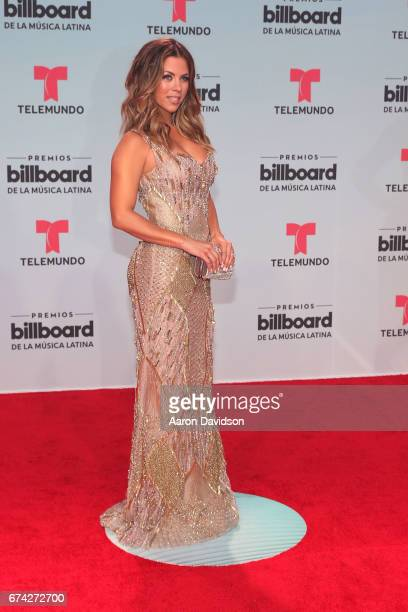 Ximena Duque attends Billboard Latin Music Awards Arrivals at Watsco Center on April 27 2017 in Coral Gables Florida