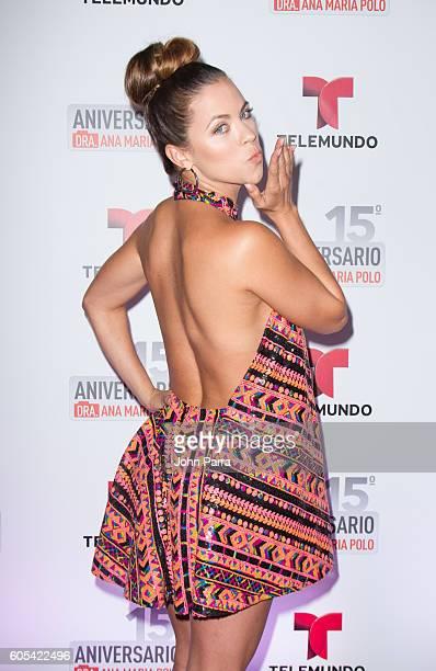 Ximena Duque attends Dra Ana Maria Polo 15th Anniversary Celebration at SLS Miami on September 13 2016 in Miami Florida