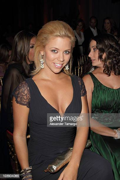 Ximena Duque attends screening of Telemundo's Alguien Te Mira at The Biltmore Hotel on September 7 2010 in Coral Gables Florida