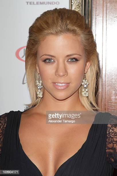 Ximena Duque attends screening of Telemundo's 'Alguien Te Mira' at The Biltmore Hotel on September 7 2010 in Coral Gables Florida
