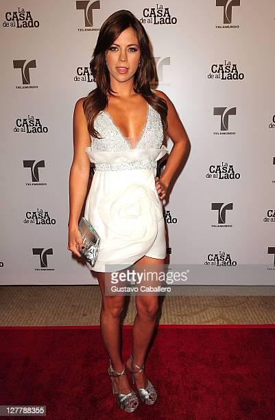 Ximena Duque attends Telemundo La Casa de al Lado VIP Premiere at Mandarin Oriental on May 31, 2011 in Miami, Florida.