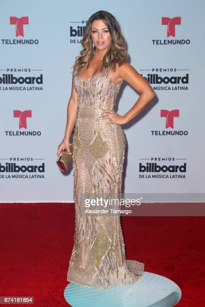 Ximena Duque attends the Billboard Latin Music Awards at Watsco Center on April 27 2017 in Coral Gables Florida