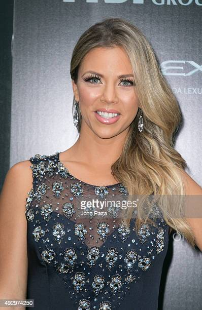 Ximena Duque attends the Latin Songwriters Hall Of Fame event on October 15 2015 in Miami Beach Florida