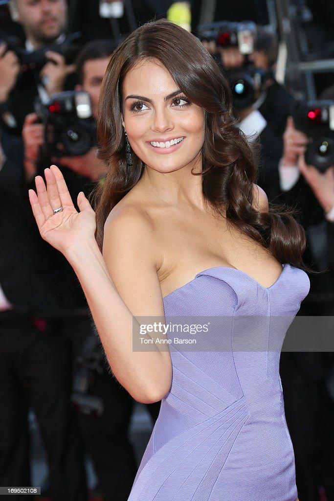 Ximena Navarrete attends the Premiere of 'La Venus A La Fourrure' at The 66th Annual Cannes Film Festival on May 25, 2013 in Cannes, France.