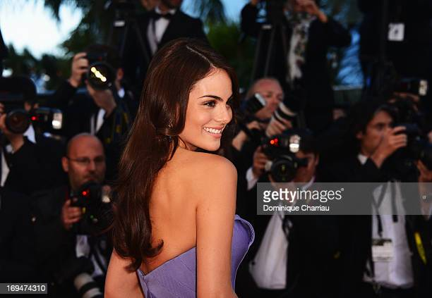 Ximena Navarrete attends the Premiere of 'La Venus A La Fourrure' during the 66th Annual Cannes Film Festival at the Palais des Festivals on May 25...