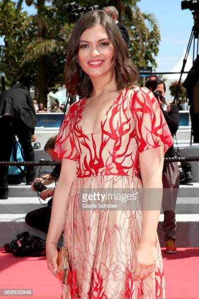Ximena Navarrete attends the screening of In War during the 71st annual Cannes Film Festival at Palais des Festivals on May 15 2018 in Cannes France