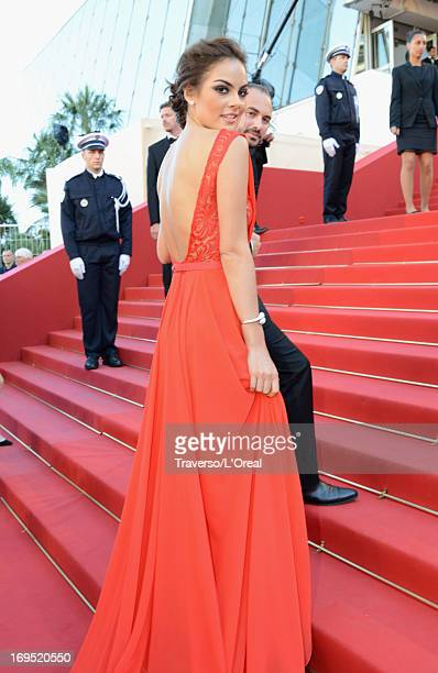 Ximena Navarrete attends the 'Zulu' Premiere and Closing Ceremony during the 66th Annual Cannes Film Festival at the Palais des Festivals on May 26...