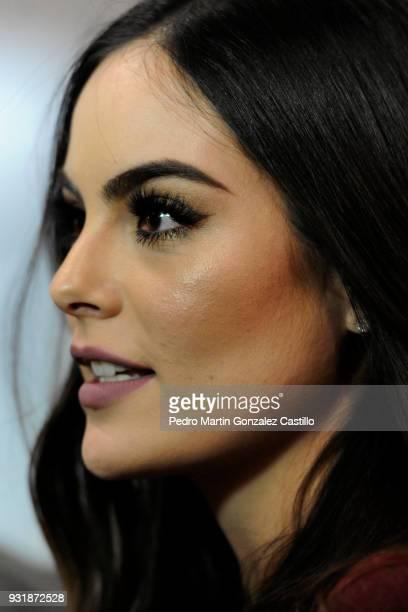 Ximena Navarrete looks on during Guadalajara International Film Festival on March 13 2018 in Guadalajara Mexico