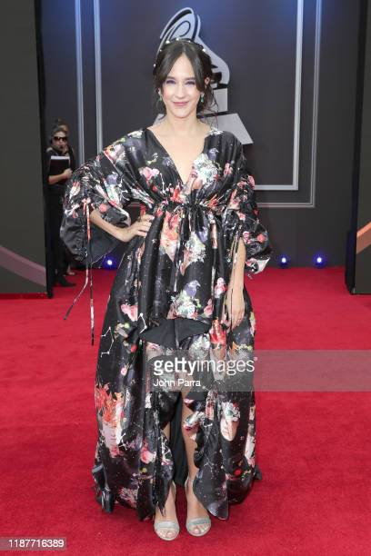 Ximena Sariñana attends the 20th annual Latin GRAMMY Awards at MGM Grand Garden Arena on November 14 2019 in Las Vegas Nevada