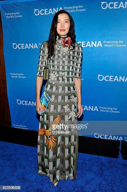 Xin Li attends the 2016 Oceana New York City Gala at the Four Seasons Restaurant on April 19 2016 in New York City