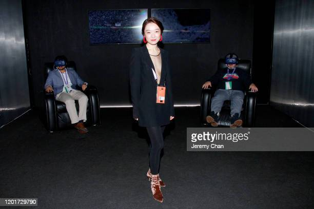 """Xin Liu of """"Living Distance"""" attends the New Frontier Press Preview during the 2020 Sundance Film Festival at New Frontier Central on January 24,..."""
