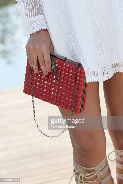 Xin Wang attends ExModel Photocall as part of MIPTV 2015 on April 13 2015 in Cannes France