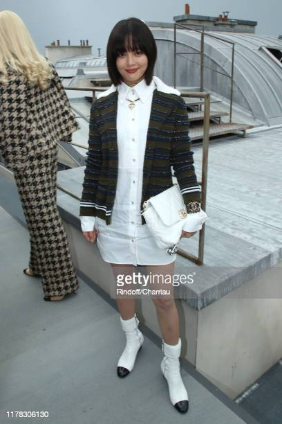 Xin Zhi Lei attends the Chanel Womenswear Spring/Summer 2020 show as part of Paris Fashion Week on October 01, 2019 in Paris, France.