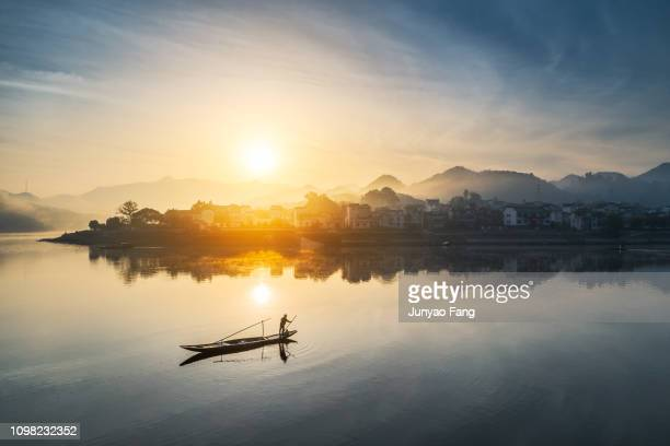 xin'an river - anhui province stock pictures, royalty-free photos & images