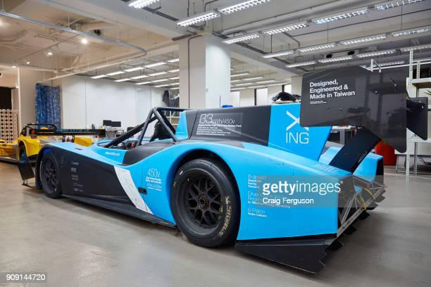 Xing Mobility's prototype electric racecar Miss E The company aims to encourage greater adoption of electric vehicles by building highend sports cars...