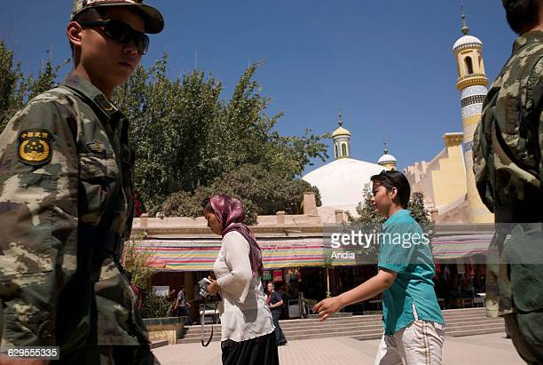 Xinjiang Uyghur community in Kashgar between the destruction of the old city and acculturation The Chinese police force keep a close watch on the...