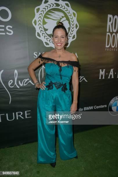 Xiomara Gonzalez attends the 2018 Sachamama Green Gala Awards at Magic City Studios on April 21 2018 in Miami Florida