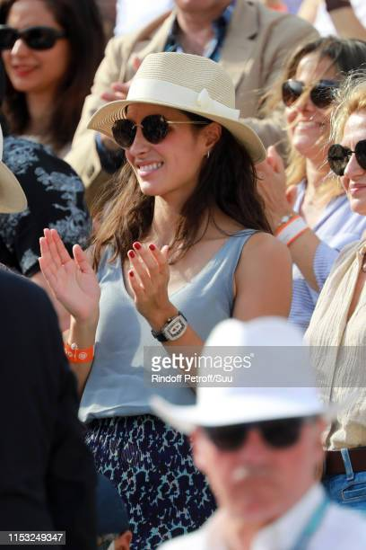 Xisca Perello attend the 2019 French Tennis Open Day Eight at Roland Garros on June 02 2019 in Paris France