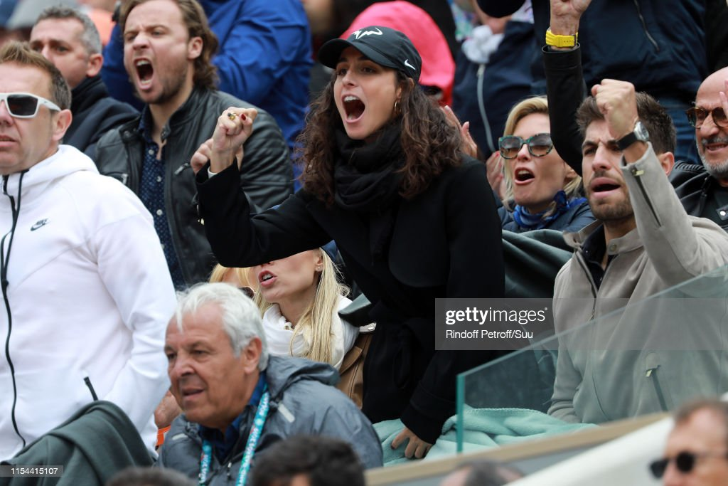 Celebrities At 2019 French Open - Day Thirteen : ニュース写真