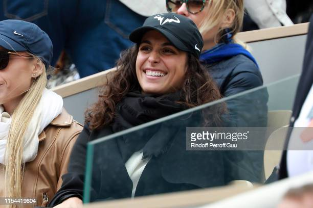 Xisca Perello attends the 2019 French Tennis Open Day Thirteen at Roland Garros on June 07 2019 in Paris France