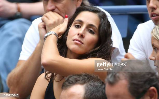 Xisca Perello girlfriend of Rafael Nadal attends his match on day 5 of the 2018 tennis US Open on Arthur Ashe stadium at the USTA Billie Jean King...