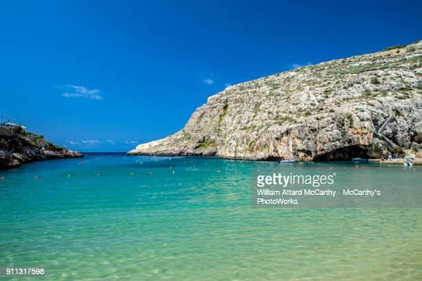 xlendi - insel gozo malta stock-fotos und bilder