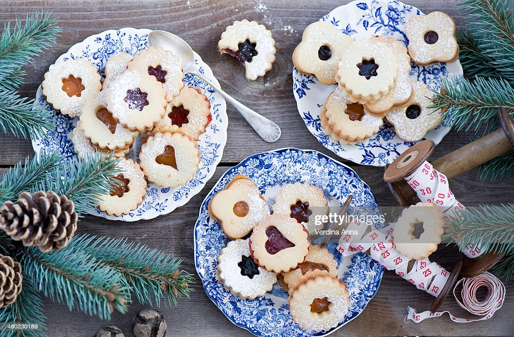 Xmas Cookies : Stock Photo