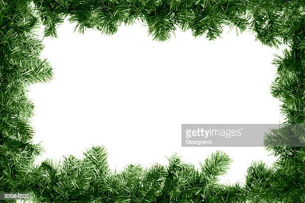 xmas frame - spruce tree stock pictures, royalty-free photos & images