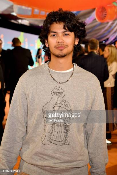 Xolo Maridueña attends Nickelodeon's 2019 Kids' Choice Awards at Galen Center on March 23 2019 in Los Angeles California