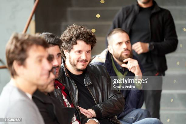 Xosé Antonio Tourinán attends EMHU press conference at Colon Theatre on April 4 2019 in A Coruna Spain