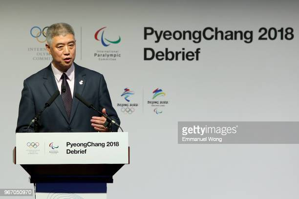 Xu Jicheng Deputy Director General of Press and Communication of the Beijing Organising Committee for the 2022 Olympic and Paralympic Winter Games...