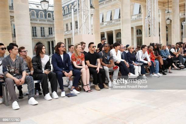 Xu Weizhou Will Peltz Ben Robson Louis Vuitton's executive vice president Delphine Arnault Hidetoshi Nakata Victor Cruz Gong Yoo Chief Executive...