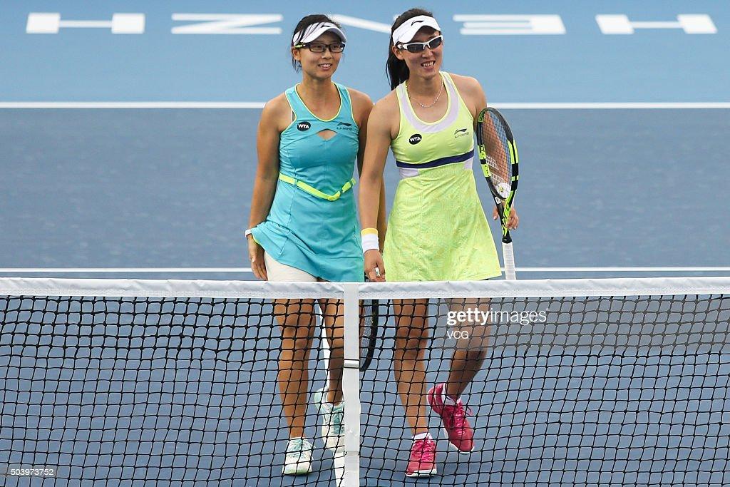 2016 WTA Shenzhen Open - Day 6