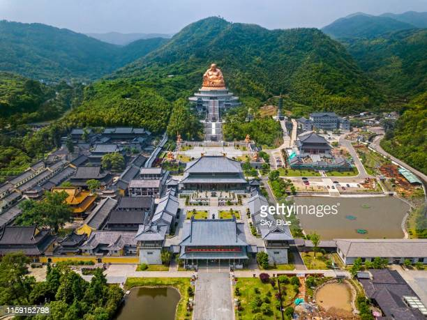 xuedou temple, china - ningbo stock pictures, royalty-free photos & images