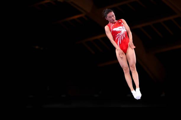 JPN: Gymnastics - Trampoline - Olympics: Day 7