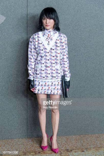 Xun Zhou attends the Chanel Metiers D'Art 2018/19 Show at The Metropolitan Museum of Art on December 04 2018 in New York City