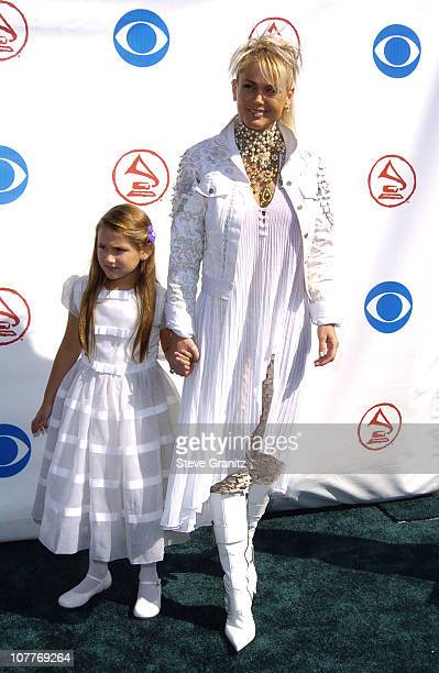 08156b23f0efa Xuxa and daughter Sasha during The 5th Annual Latin GRAMMY Awards Arrivals  at Shrine Auditorium in