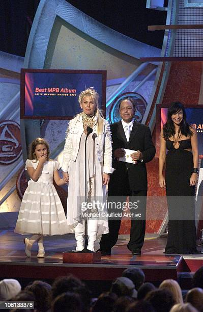 f9ec65cae4603 Xuxa with daughter Sasha and Cheech Marin during The 5th Annual Latin  GRAMMY Awards Show at
