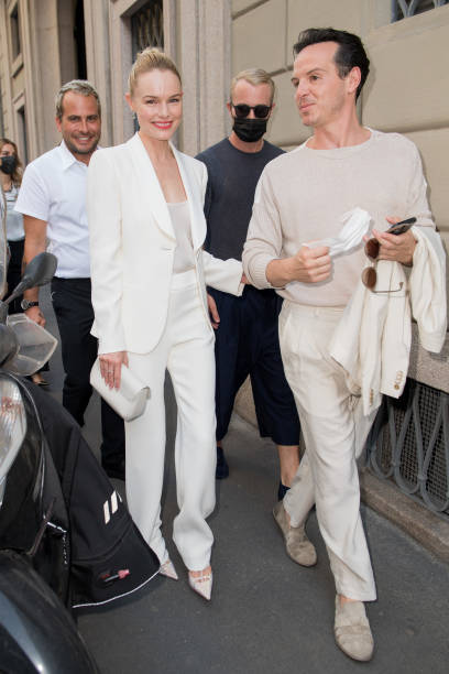 ITA: Giorgio Armani - Outside Arrivals - Milan Men's Fashion Week Spring/Summer 2021/22