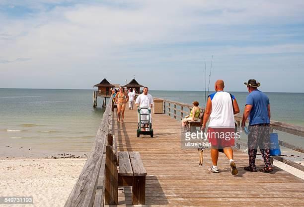 Xxx, Amerika, USA, Florida, Naples, Sunshine State,Atlantic Ocean , Caribbean Sea, beach, Fishing Pier