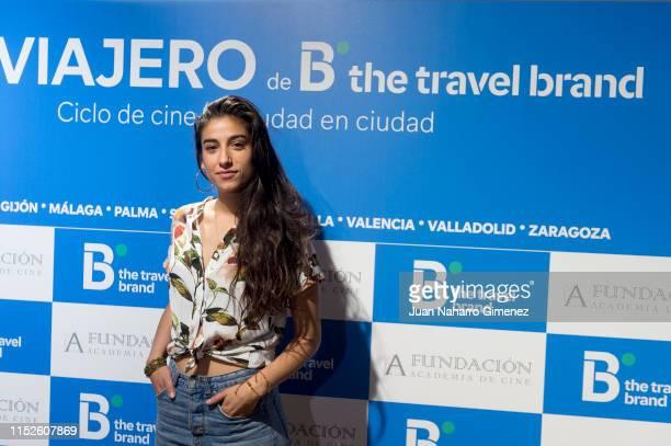 xxx attends 'Ciclo de Cine Viajero' presentation organized by Spanish Cinema Academy and B The Travel Brand on May 30 2019 in Madrid Spain
